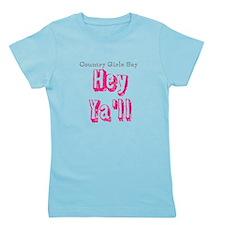 Funny Hey yall Girl's Tee