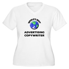 World's Best Advertising Copywriter Plus Size T-Sh
