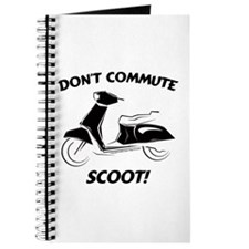 Don't Commute (Black) Journal
