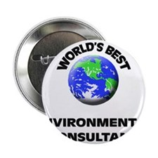 "World's Best Environmental Consultant 2.25"" Button"