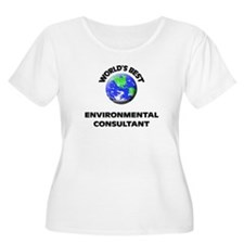 World's Best Environmental Consultant Plus Size T-