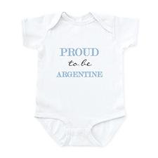 Argentine Pride Infant Bodysuit