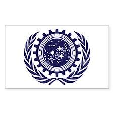 United Federation of Planets 2013 Dark Logo Sticke