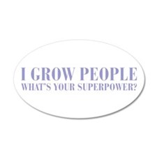 I-grow-people-BOD-VIOLET Wall Decal