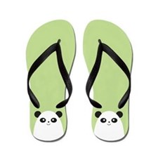 Panda Bear Flip Flops Flip Flops