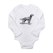 English Setter Sketch Body Suit