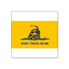 Dont Tread on Me Snake Flag Sticker