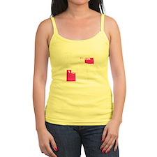 Custom Blue Name Tag Yoga Pants