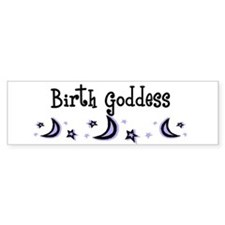 Birth Goddess Bumper Bumper Sticker