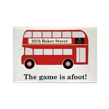 Game Is Afoot Rectangle Magnet (100 pack)