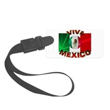 Mexico-flag3.png Luggage Tag