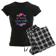 I Love Quilting pajamas