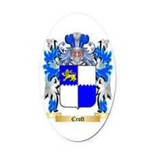 Croft Oval Car Magnet