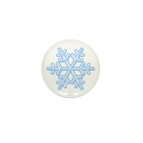 Flurry Snowflake XVIII Mini Button