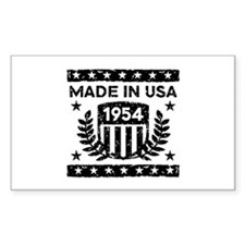 Made In USA 1954 Decal