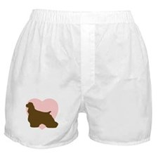 Cocker Spaniel Heart Boxer Shorts