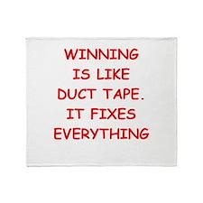 winning 2 Throw Blanket