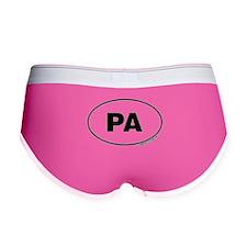Pennsylvania, PA Women's Boy Brief