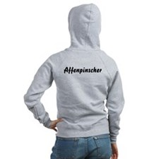 Affenpinscher Zip Hoody (Back Only)