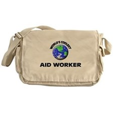World's Coolest Aid Worker Messenger Bag