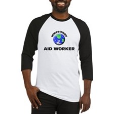 World's Coolest Aid Worker Baseball Jersey