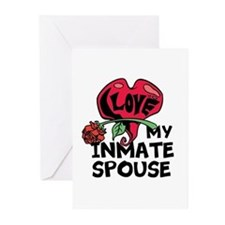 I love My Inmate Spouse Greeting Cards (Pk of 10)