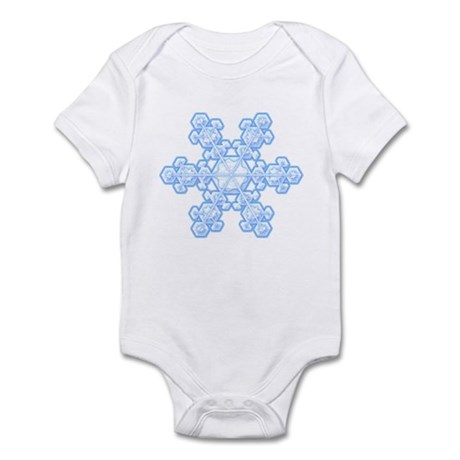 Flurry Snowflake XVII Infant Bodysuit