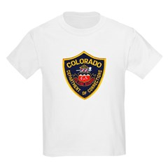 Colorado Corrections Kids T-Shirt