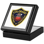 Colorado Corrections Keepsake Box