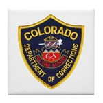 Colorado Corrections Tile Coaster