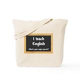 English teacher Bags & Totes