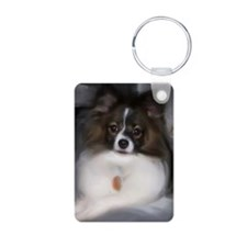 Papillon Painting Keychains