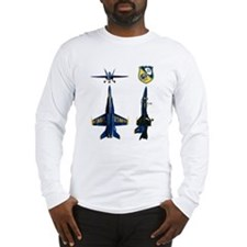 Cool Blue angels Long Sleeve T-Shirt