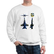 Unique Blue angels Sweatshirt