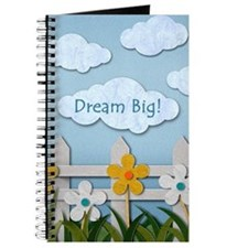Dream Big Picket Fence Journal