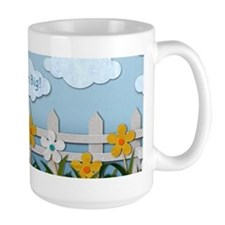 Dream Big Picket Fence Mug