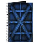 Rusty Shipping Container - blue Journal
