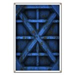 Rusty Shipping Container - blue Banner