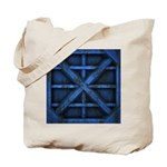 Rusty Shipping Container - blue Tote Bag