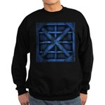 Rusty Shipping Container - blue Sweatshirt