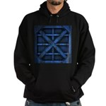 Rusty Shipping Container - blue Hoodie