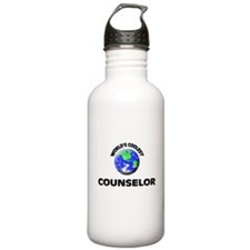 World's Coolest Counselor Water Bottle