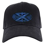 Rusty Shipping Container - blue Baseball Hat