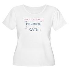 Herding Cats Plus Size T-Shirt