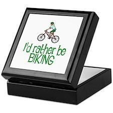 I'd rather be biking Keepsake Box