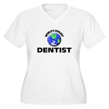 World's Coolest Dentist Plus Size T-Shirt