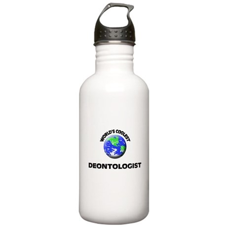 World's Coolest Deontologist Water Bottle