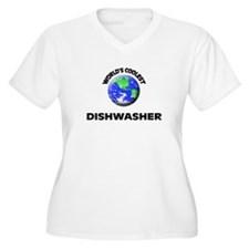 World's Coolest Dishwasher Plus Size T-Shirt