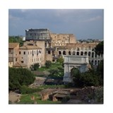 Roman Forum Tile Coaster