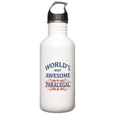 World's Most Awesome Paralegal Water Bottle